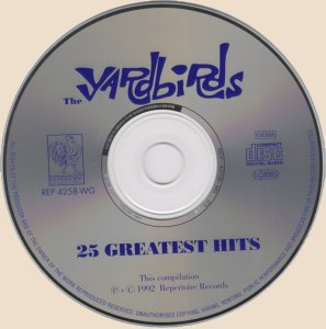 The Yardbirds - 25 Greatest Hits (CD)