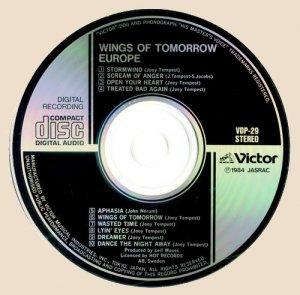 Europe - Wings Of Tomorrow (CD)