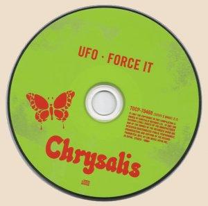 UFO - Force It_CD