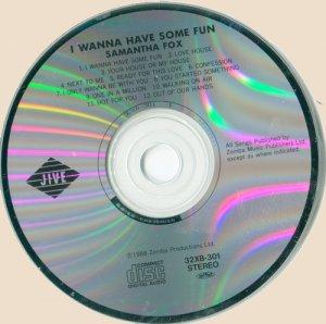Samantha Fox - I Wanna Have Some Fun (CD)