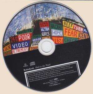 Hail To The Thief_cd