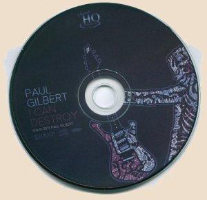Paul Gilbert - I Can Destroy_CD
