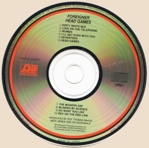 Foreigner – Head Games_CD