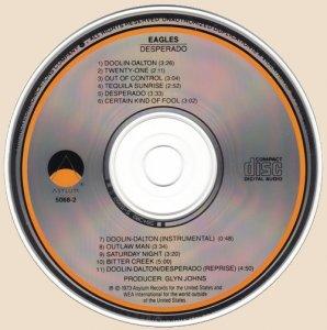 Eagles - Desperado_CD