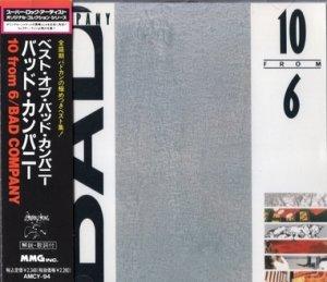 Bad Company - 10 From 6 (1985)