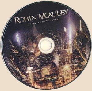 Robin Mcauley - Standing On The Edge (2021)_CD