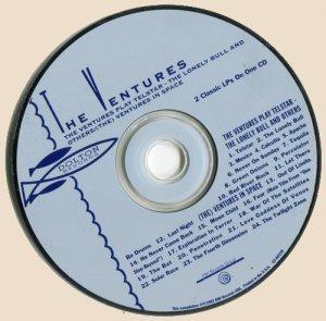 The Ventures - The Ventures Play Telstar_CD