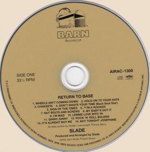 Slade - Return To Base_CD