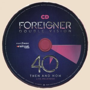 Foreigner - Double Vision 40_CD