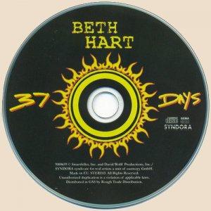 Beth Hart - 37 Days_CD