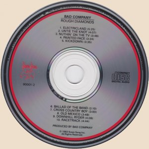 Bad Company - Rough Diamonds_CD