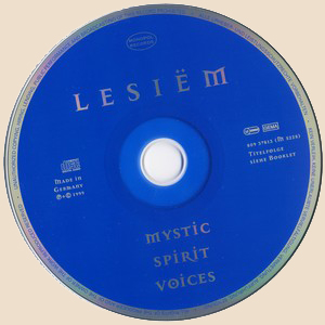 Lesiëm - Mystic Spirit Voices_Disc