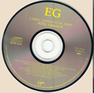 King Crimson - Larks Tongues In Aspic_CD