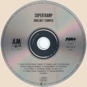 Supertramp - Indelibly Stamped_CD