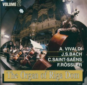 VA - The Organ of Riga Dom (1998)