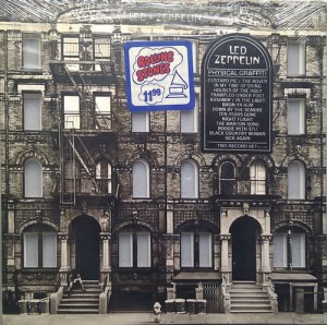 Led Zeppelin - Physical Graffiti (1975) Vinyl Rip