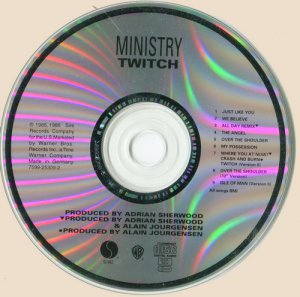 Ministry - Twitch (1986)