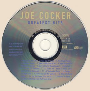 Joe Cocker - Greatest Hits (1988)