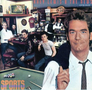 Huey Lewis And The News - Sports (1983) [Japan 1st]