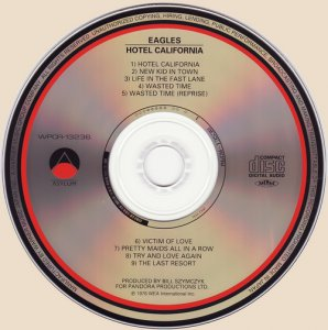 Eagles - Hotel California (1976) SHM-CD