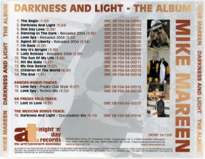 Mike Mareen Vs. Da Freaks - Darkness And Light (2004)