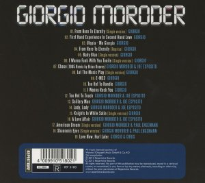 Giorgio Moroder - Best of Electronic Disco (2013)