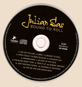 Julian Sas - Bound To Roll (2012)