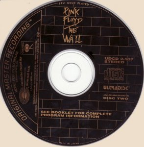 Pink Floyd - The Wall [2CD] (1979) [24Kt Gold CD]