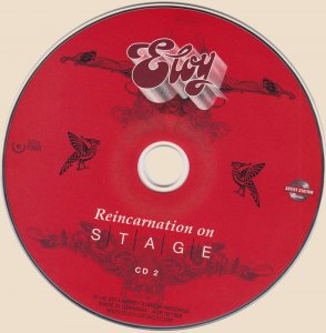 Eloy - Reincarnation On Stage [2CD] (2014)