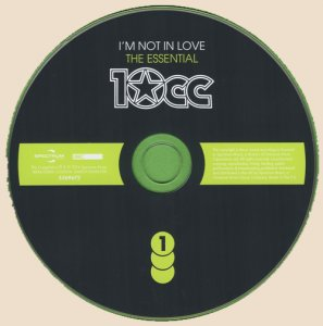 10Cc - I'm Not In Love: The Essential (2016)