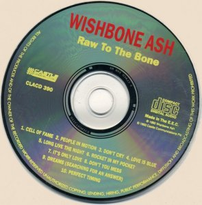 Wishbone Ash - Raw To The Bone (1993)