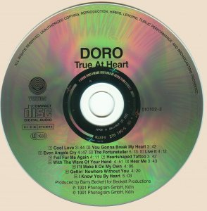 Doro - True At Heart (1991)