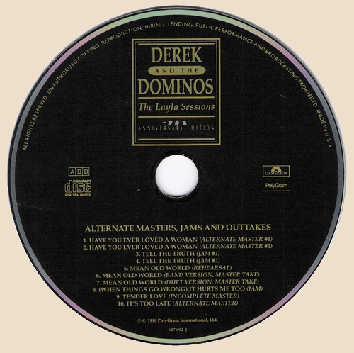 Derek and the dominos the layla sessions 1990 flac - What does it mean to be a master gardener ...