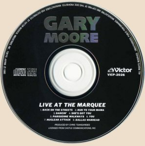 Gary Moore - Live At The Marquee (1983)