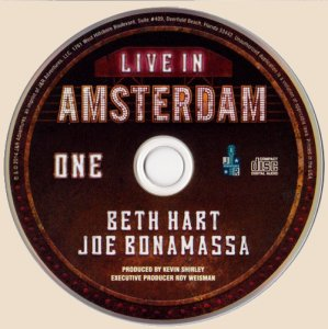 CD-Joe Bonamassa - Live in Amsterdam