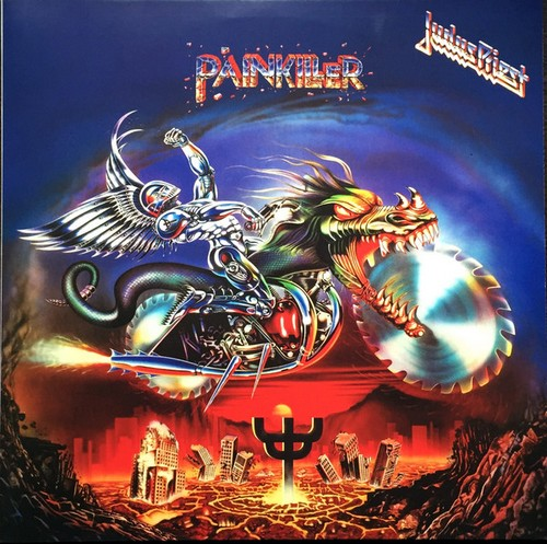 Judas priest painkiller (2017 original master repress vinyl lp.