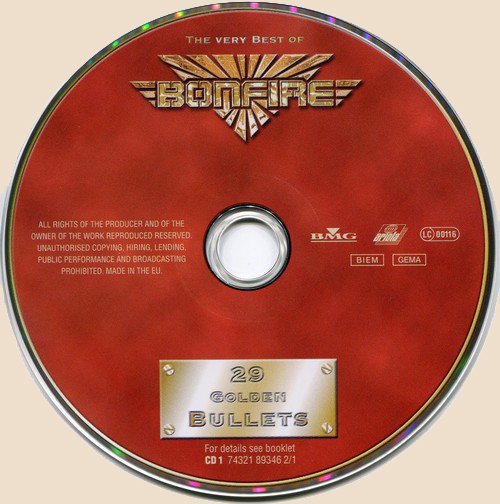 a684f7ab62bc Bonfire - 29 Golden Bullets - The Very Best (2001) FLAC