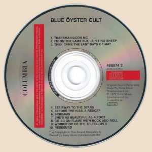 Blue Oyster Cult - Blue Oyster Cult (1972)