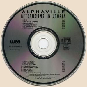 CD_Afternoons In Utopia