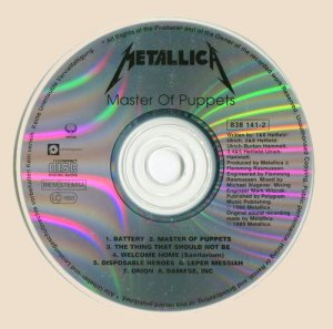 CD_Master Of Puppets