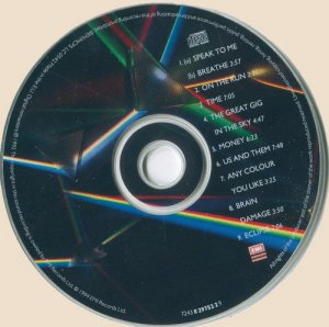 CD-Pink Floyd - The Dark Side Of The Moon (1973)