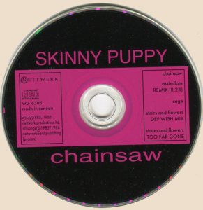 CD-Skinny Puppy - Chainsaw