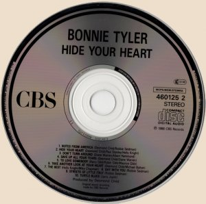CD-Bonnie Tyler - Hide Your Heart