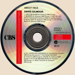 CD-David Gilmour - About Face