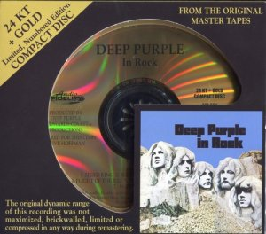 Deep Purple - In Rock (2009) 24K Gold